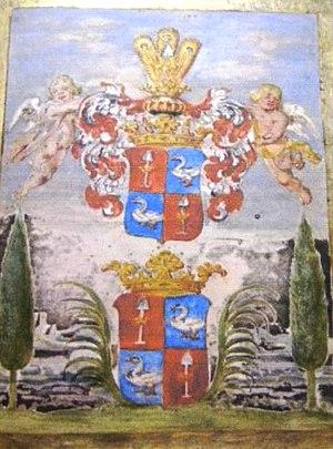 Cornelis HrR Ridder de Graeff - Image: Wapen van De Graeff (II)