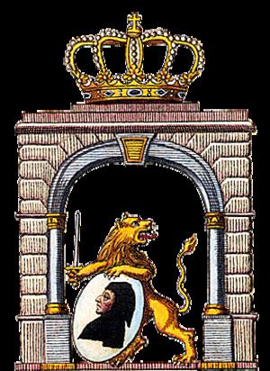 Coat of arms of Munich - Image: Wappen München 1818 1835