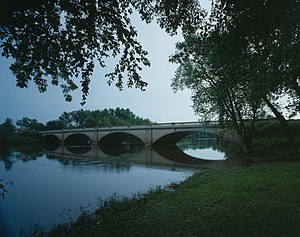 Buchanan County, Iowa - Wapsipinicon River Bridge