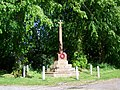 War Memorial, Newton Valence - geograph.org.uk - 1338445.jpg