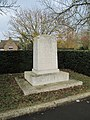 War Memorial by the school - geograph.org.uk - 1587094.jpg