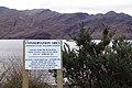 Warning sign for walkers at Corran - geograph.org.uk - 408685.jpg