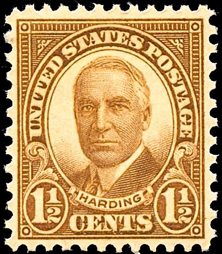 Warren G Hardiing 1930 Issue-1+half-cent