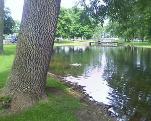 Coldwater, Michigan - Waterworks Park in Coldwater, Michigan