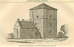 Wattlesborough Castle - Image: Wattlesborough Tower, Shropshire 4