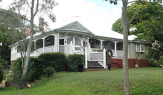 Corinda, Queensland - Weemalla was listed on the Queensland Heritage Register in 2013