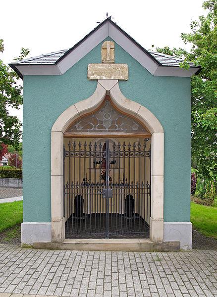 Wayside chapel in Hobscheid, Luxembourg, Grand-Rue