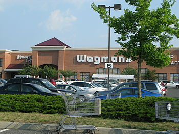 English: A Wegman's store in Manalapan, NJ.