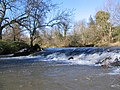 Weir above Sandy's Mill - geograph.org.uk - 360563.jpg