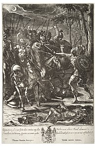 Wenceslas Hollar - Nisus slaying Volscens (State 3).jpg