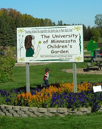 Morris, Minnesota - The Children's Garden at the West Central Research and Outreach Center, Morris.