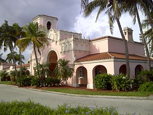 Tri-Rail - The West Palm Beach Station, built in 1925, is one of the many original stations built by the Seaboard-All Florida Railway in the 1920s. Today, these stations are used by Tri-Rail and Amtrak.