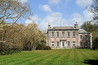 Trewithen House Georgian country house