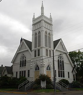 United Presbyterian Church and Rectory (Albany, Oregon)