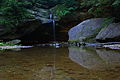 Wide-Lower-Waterfalls-Old-Mans-Cave-Reflections - West Virginia - ForestWander.jpg