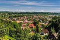 Widok na Dobczyce z baszty murów obronnych.jpg