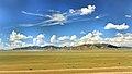 Widoki mongolskiego krajobrazu widziane z minibusa Karakorum - Ułan Bator (22).jpg