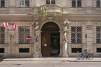 Wiener Börse - Palais Caprara-Geymüller, site of the Wiener Börse