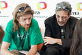 Wikimania 2009 - Benjamin and Enrique.jpg