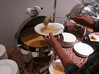 Wikimania 2015-Wednesday-Food at lunchtime (4).jpg