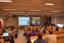 Wikipedia-day Swedish University of Agricultural Sciences.JPG