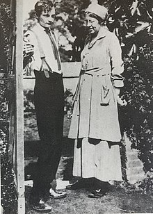 Photo of Will and Ka around 1917