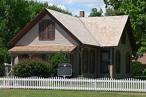 Willa Cather's childhood home in Red Cloud