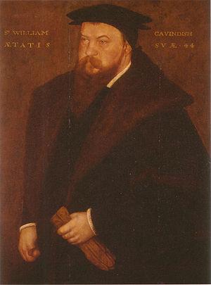 William Cavendish (courtier) - Sir William Cavendish c. 1547