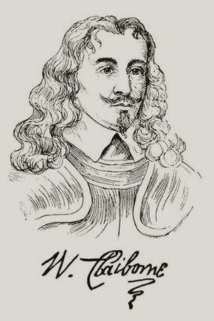 William Claiborne - Image: William Claiborne (1600 – 1677)