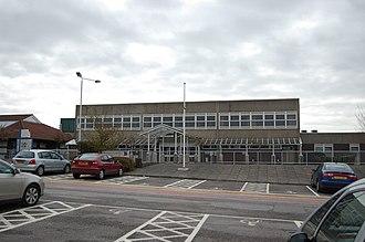 William Harvey Hospital - Main entrance to the hospital