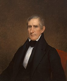 William Henry Harrison en 1841.