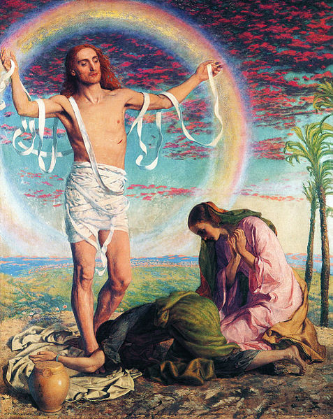 http://upload.wikimedia.org/wikipedia/commons/thumb/e/ea/William_Holman_Hunt_-_Christ_And_The_Two_Marys.jpg/477px-William_Holman_Hunt_-_Christ_And_The_Two_Marys.jpg
