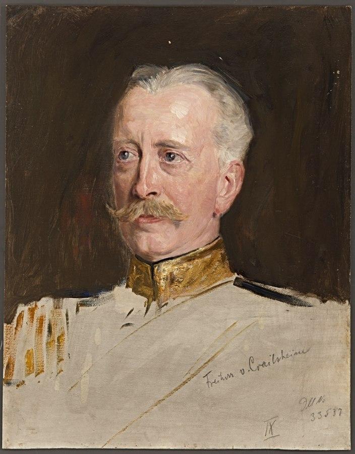 Ohne Titel (Portraitstudie Freiherr von Crailsheim)