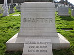 William R. Shafter headstone.JPG