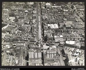 William Street, Sydney - Image: William Street Sydney from air