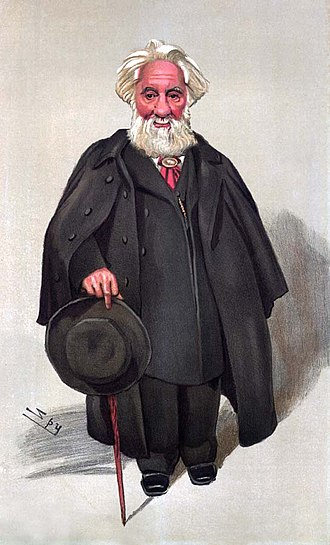 William Huggins - Caricature of Huggins by Leslie Ward in Vanity Fair