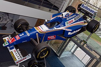 Williams FW19 - Image: Williams FW19 front left 2017 Williams Conference Centre 2