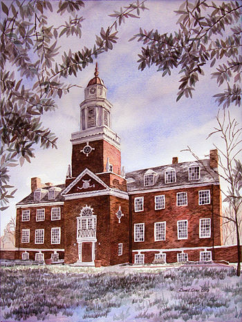 English: Williamson Hall, Westminster College ...