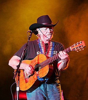 Willie Nelson performing at the Chumash Casino...