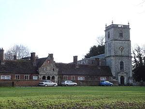 Wimborne St Giles - Parish church and Almshouses