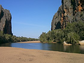 Image illustrative de l'article Parc national de Windjana Gorge