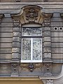 Window with stucco head, 4 Liszt square, 2016 Terezvaros.jpg