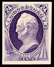 Winfield Scott44 1870 issue-24c