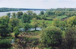 Vistula valley east of Toruń