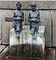 Wismar, Wasserkunst, wasserspeiende Figuren.JPG