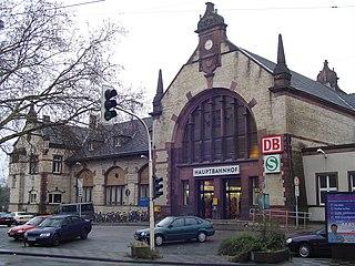 Witten Hauptbahnhof railway station in Witten, Germany