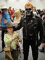 Wizard World Anaheim 2011 - Indiana Jones and Ghost Rider (5674471051).jpg