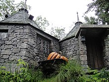Wizarding World of Harry Potter - Hagrid's hut (5014154708).jpg