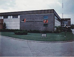 Crosley Broadcasting Corporation - WLWC Studios in the 1960s.