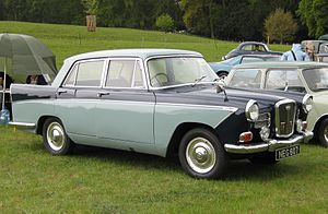 Wolseley 15/60 - Image: Wolseley 1560 reg Jun 1961 1489 cc
